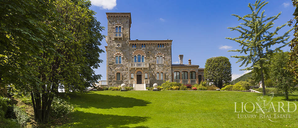 magnificent villa in the province of treviso
