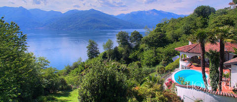 prestigious villa for sale by lake maggiore