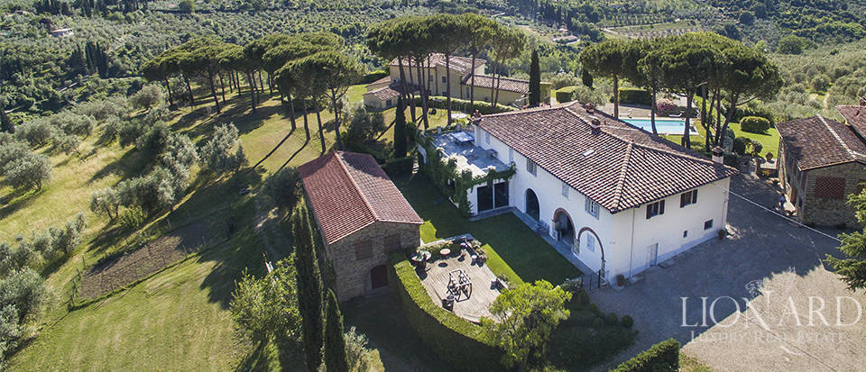 luxury villa for sale at the outskirts of florence