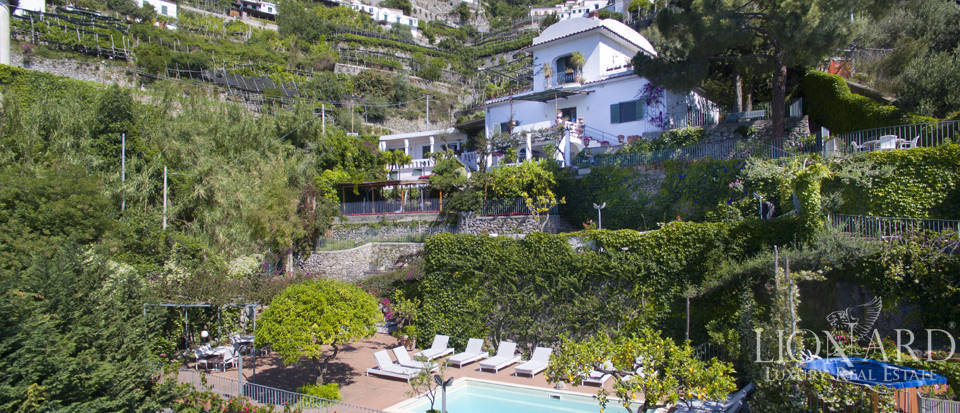 luxurious villa on the amalfi coast for sale