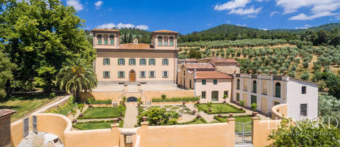 majestic high quality farmstead in florence countryside
