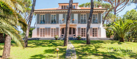 elegant villa for sale in massa