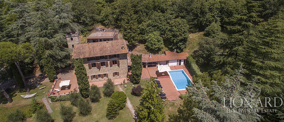 luxury villa for sale in the mugello area