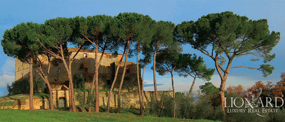 Castello di Sapia for sale in Tuscany Image 1
