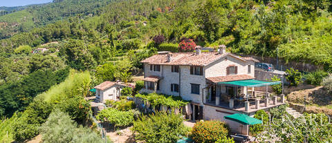 stunning villa with panoramic view over the versilia area