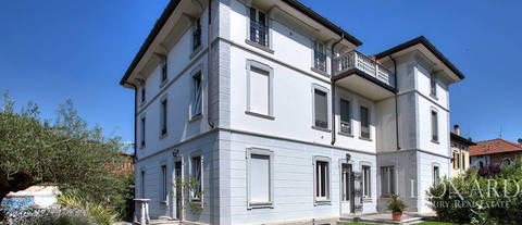 art nouveau villa for sale in brescia