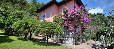 art nouveau villa for sale by lake garda