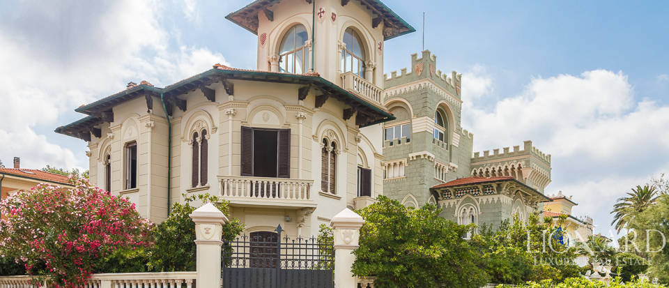 charming art nouveau villa in livorno