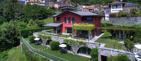 villa by lake como