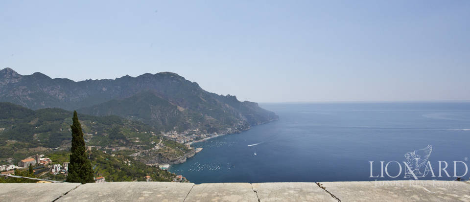 wonderful sea view villa for sale in ravello