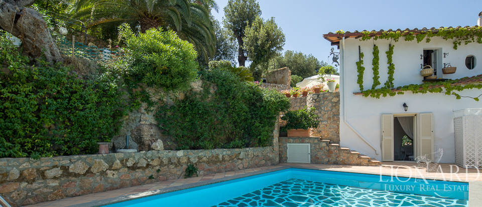 charming villa with swimming pool on mount argentario