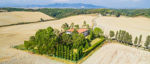 luxurious farmhouse for sale in livorno