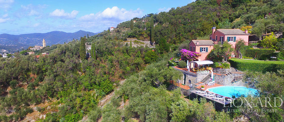Wonderful villa with a view of Portofino for sale Image 1