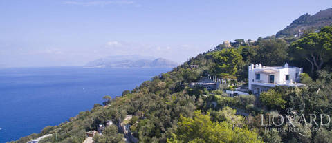luxurious villa for sale on the island of capri
