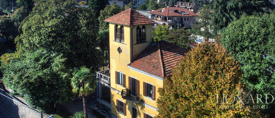 Historical villa for sale near Como Image 1