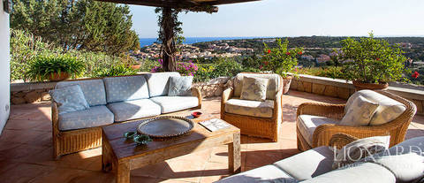 wonderful villa by porto cervo s sea