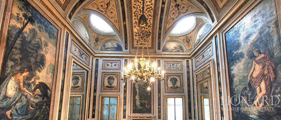wonderful neoclassical palace for sale in cremona