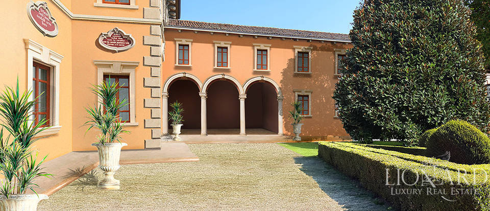 16th century castle for sale in pavia