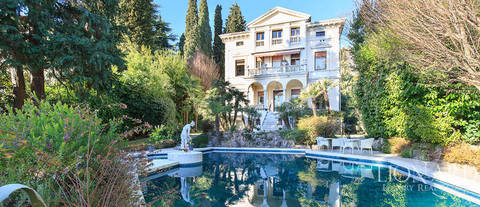 stunning historical villa for sale by lake garda