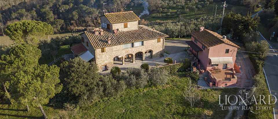 rustic villa for sale in san casciano