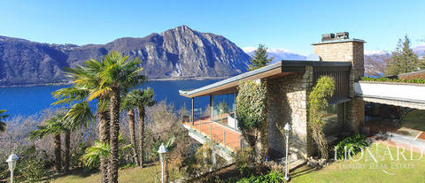 wonderful villa for sale in campione ditalia