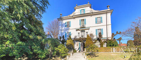 historical villa for sale in stresa