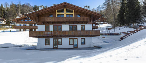 lussuoso chalet cortina d ampezzo
