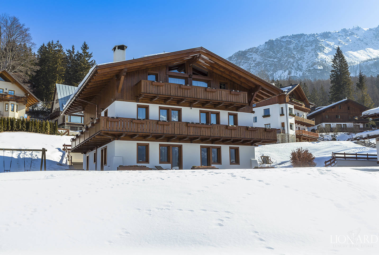 Luxurious mountain chalet in Cortina d'Ampezzo