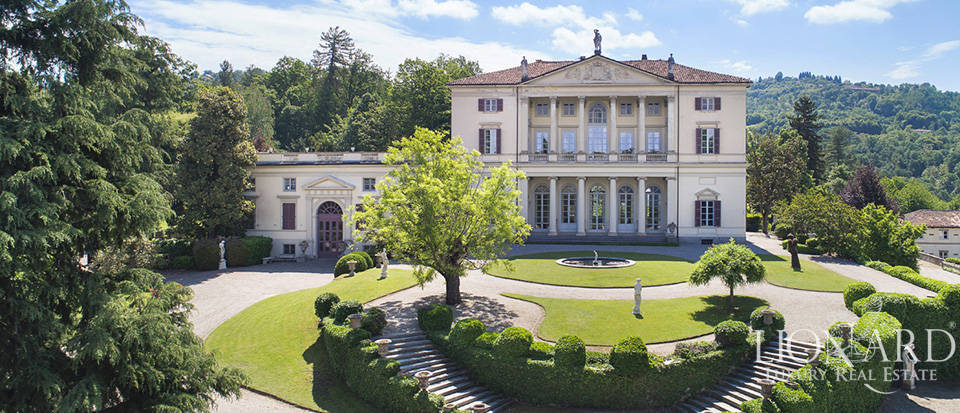 exclusive historical villa for sale near turin