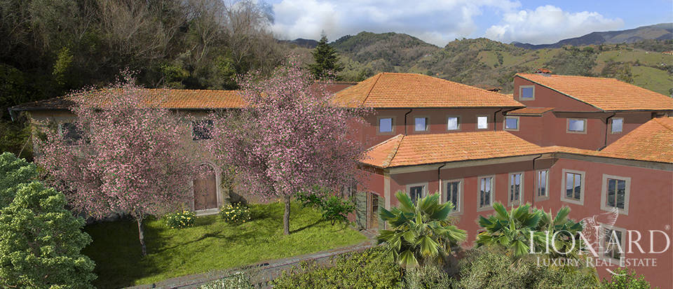 historical villa for sale in carrara