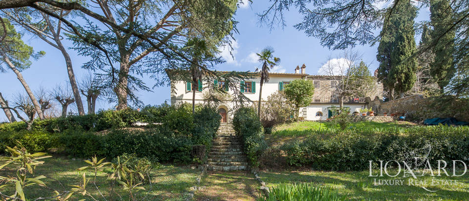 historical villa for sale in chianti