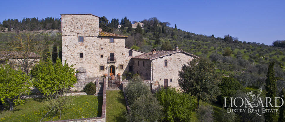 villa once owned by michelangelo bonarroti for sale