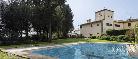 villa a few steps from the heart of florence for sale