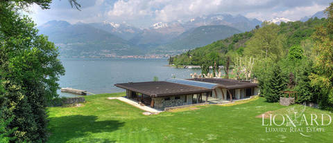lake front villa for sale in the province of lecco