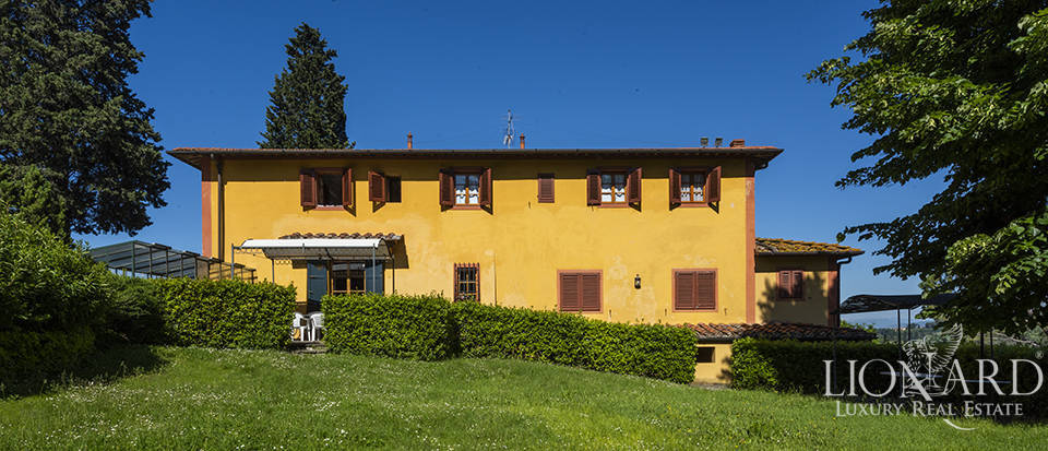 exclusive villa with a view over florence for sale