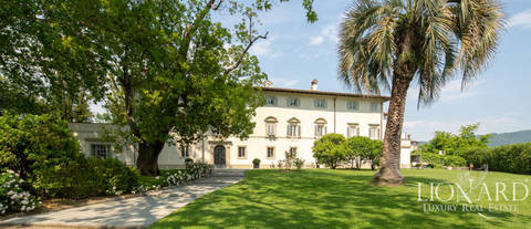 historical luxury estate for sale near pistoia