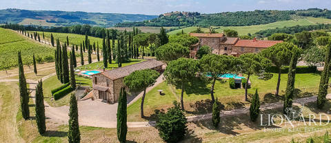 agritourism resort near florence for sale