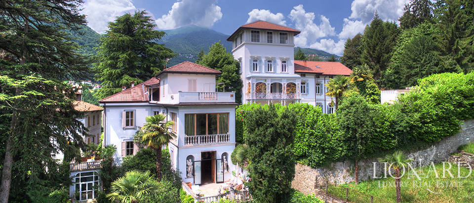 historic villa for sale near como