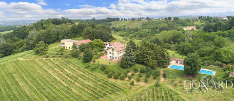 villa for sale in monferrato
