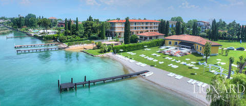 exclusive lake front villa for sale in sirmione