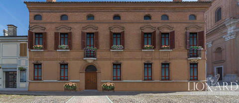 stunning historical building for sale near ferrara
