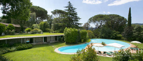 wonderful luxury villa for sale in camaiore