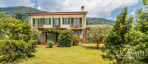 stunning luxury villa for sale in camaiore