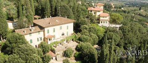 magnificent early 20th century villa in fiesole