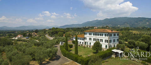 luxury villa for sale in lucca s countryside