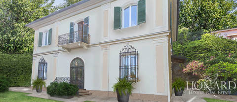 historic villa for sale spezia