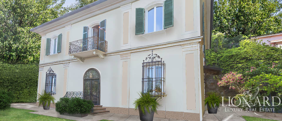 Historical villa with a view of the Ligurian sea for sale Image 1