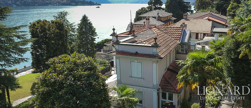 art nouveau villa for sale on the shores of lake como