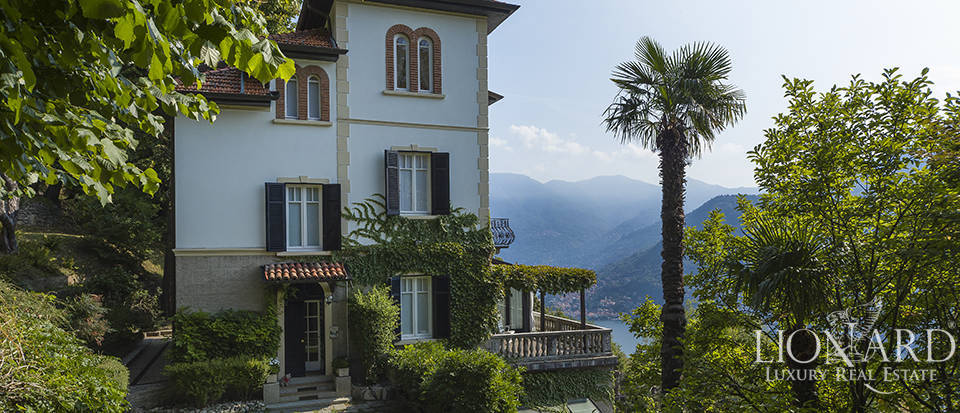 Stunning Art-Nouevau villa for sale by Lake Como Image 1