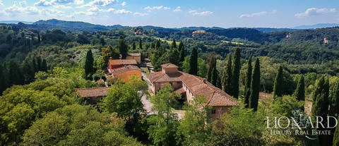 tuscan estate for sale between florence pisa and siena
